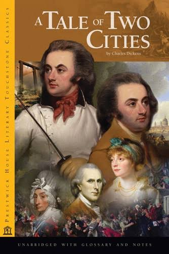book cover of Charles Dickens' A Tale of Two Cities