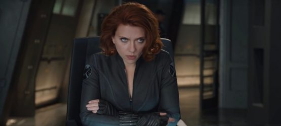 Scarlett Johansson playing black widow role in Marvel's movie