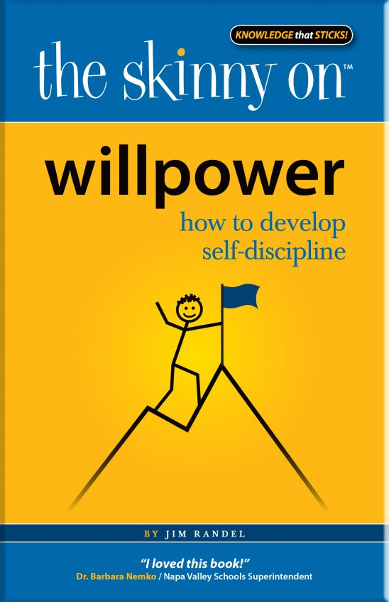 The Skinny on Willpower_ How to Develop Self-Discipline book cover