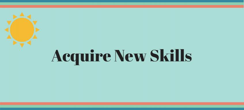 new skills in summer