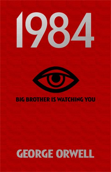 book cover of George Orwell's 1984