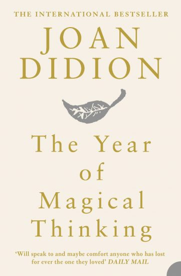 book cover of Joan Didion's The Year of Magical Thinking