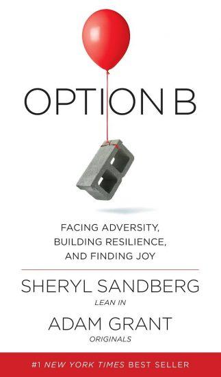 book cover of Sheryl Sandberg's Option B