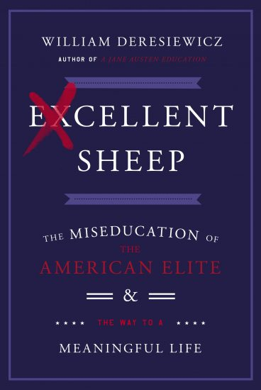 book cover of William Deresiewicz's Excellent Sheep