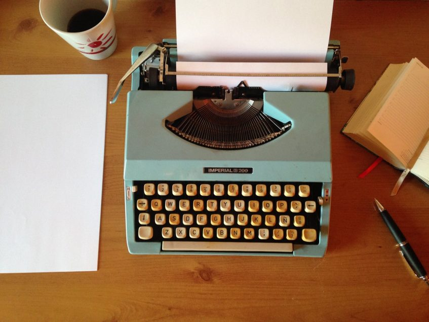 a typing machine