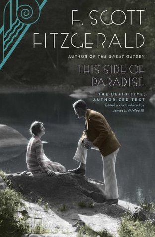 book cover of The side of Paradise by F.Scott Fitzerald