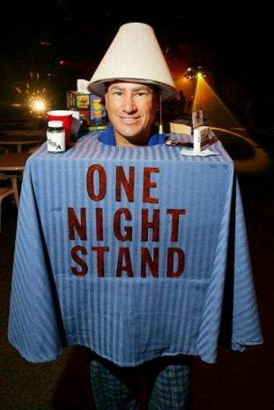 the guy in a one night stand costume